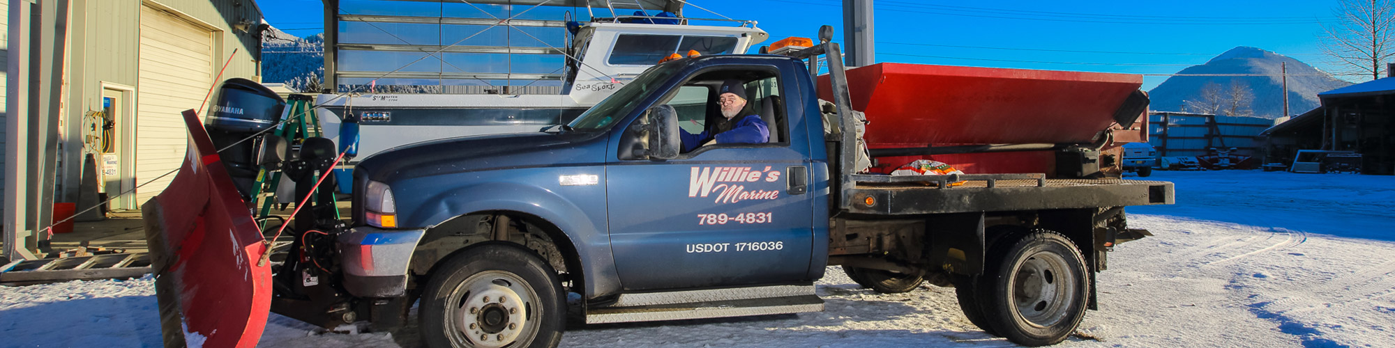 Willie's Marine - Snow Plowing